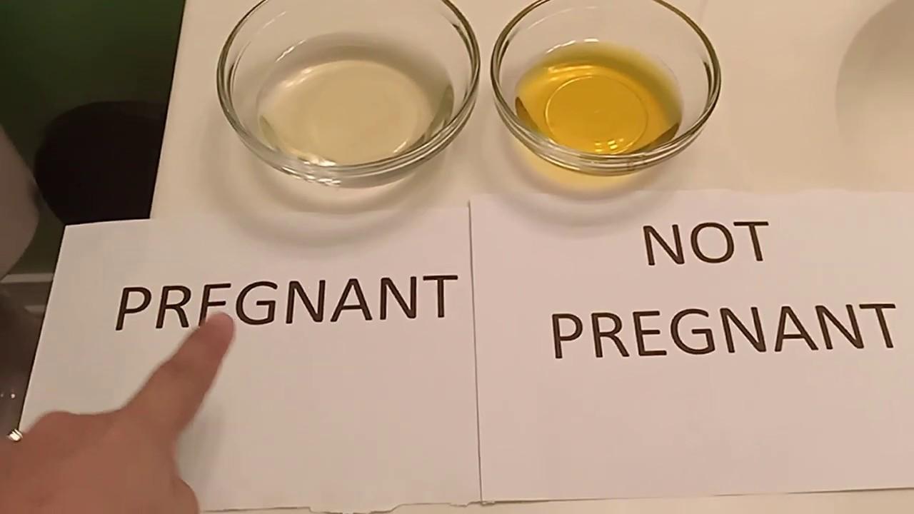 اختبار الحمل بالملح منزليا قبل موعد الدورة
