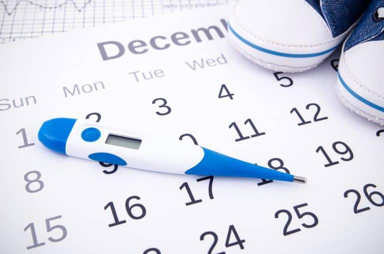 حساب الدورة الشهرية
