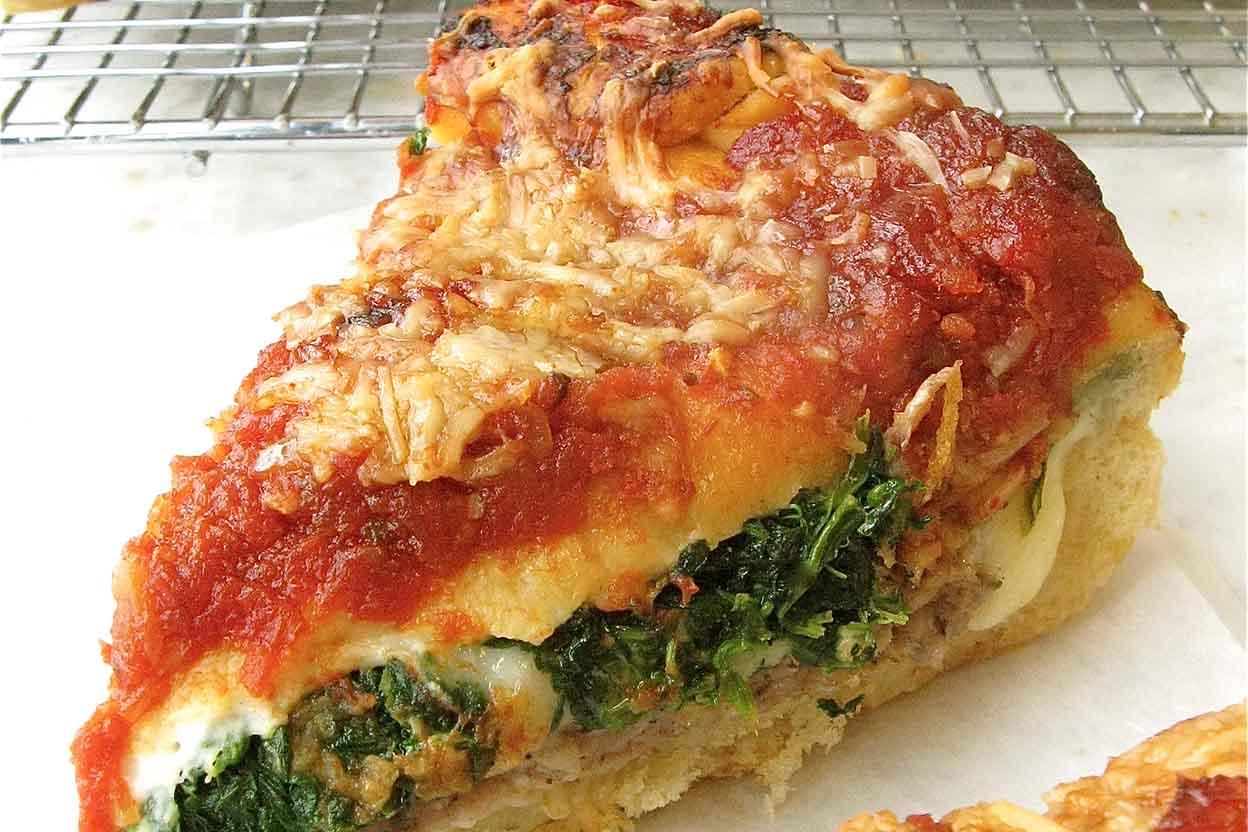 طريقة عمل البيتزا المحشية