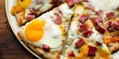 طريقة عمل بيتزا وجبة الإفطار