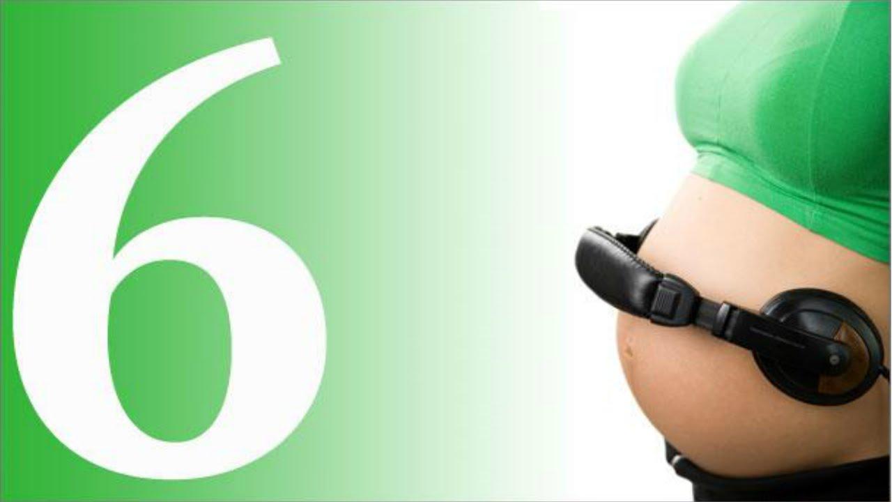 الجنين في الشهر السادس