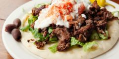 طريقة عمل شاورما اللحم في المنزل مثل المطاعم بالصور خطوة بخطوة