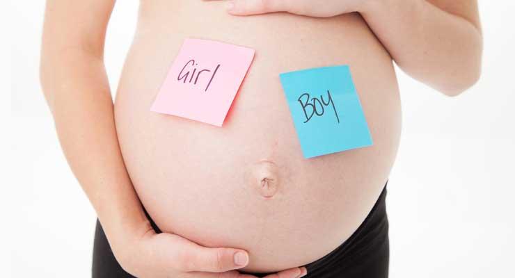 نوع حركة الجنين الذكر