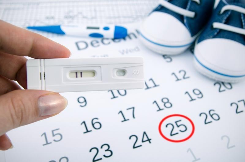 هل اختبار الحمل يظهر الحمل من اول يوم