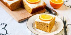 طريقة عمل الكيكة العادية بالبرتقال خطوة بخطوة بالصور
