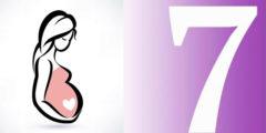الشهر السابع من الحمل والإحتياطات اللازمة للحامل للحفاظ علي صحة الجنين