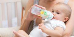 اضرار اللبن الصناعي المدعم لحديثي الولادة