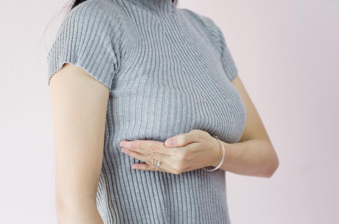 اعراض سرطان الثدي