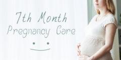 وزن الطفل في الشهر السابع من الحمل