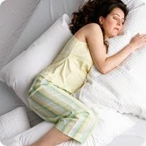 اوضاع النوم للحامل