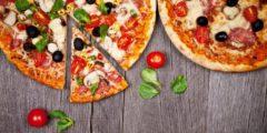 طريقة عمل البيتزا بالخضار والموزاريلا في البيت