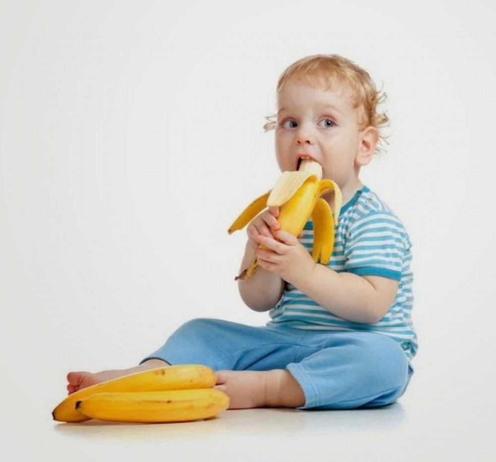 كمية الموز المسموح بها يوميا للاطفال