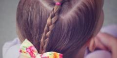 حركات شعر اطفال روعة وسهلة