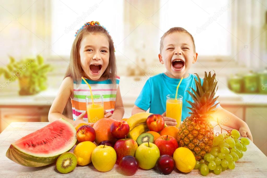 افضل الفواكه للاطفال