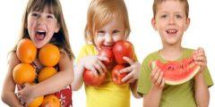 فوائد الفواكه الطازجة للاطفال بالصور
